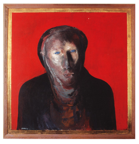 Icon for my dead uncle II_oil on board_1998